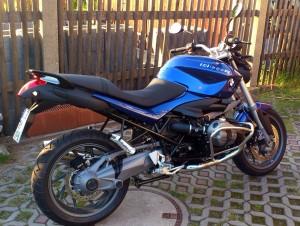 BMW 1200 R der Fahrschule Knut Preßler