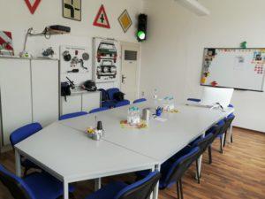 Schulungsraum Fahrschule Knut Preßler Greiz